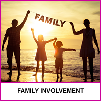 We Support Encourage Family Involvement
