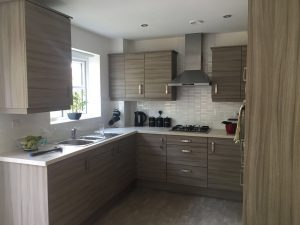 Detached Supported Living Services Kitchen