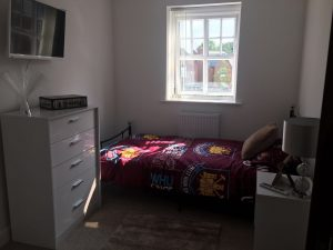 Detached Supported Living Services Bedroom