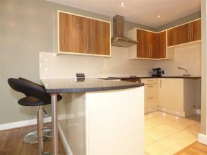 Modern Fitted Kitchen Supported Living